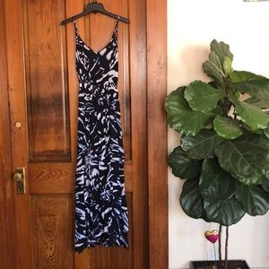Abercrombie and Fitch A&F floral maxi dress